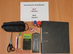 Von der Schulbedarfspauschale können zum Beispiel Schreibwaren und Zeichenmaterial gekauft werden.