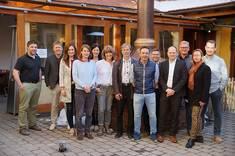 Teilnehmer*innen des Workshops zur Handwerksregion Ostallgäu. Quelle: Landratsamt Ostallgäu