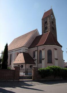 Auch die Sanierung der katholischen Pfarrkirche St. Vitus in Weicht wurde vom Landkreis bezuschusst.