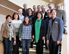 Die Steuerungsgruppe der Staatlich anerkannten Öko-Modellregion Ostallgäu